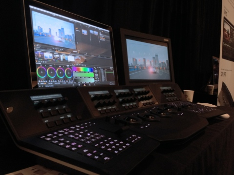 Davinci Resolve 10 with Panel